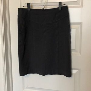 Banana Republic Charcoal pencil skirt